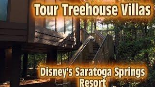 Tour Treehouse Villas at Disney's Saratoga Springs Resort & Spa Walt Disney World