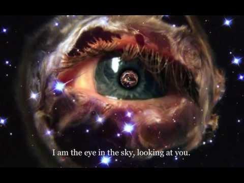 Alan Parsons Project - Eye in the Sky - Lyrics on screen