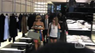 Paris And Nicky Hilton Hit Up Dior.