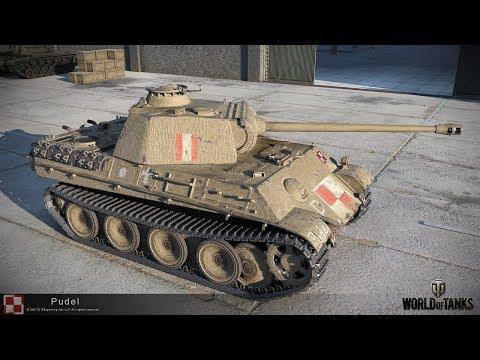 """Польша: первый прем танк WoT """"Пудель"""" (Pudel), тест драйв нового СТ"""