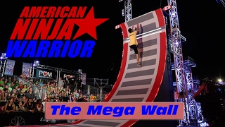 The 19' Mega Wall (Warped Wall) - American Ninja Warrior 2017 All Star Special