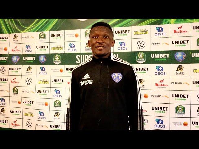 Intervju med Umar Muhammed efter första träningen med laget