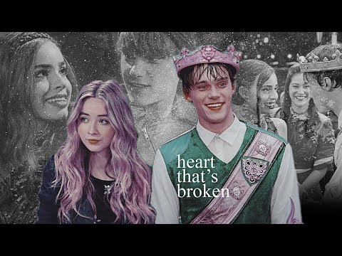 maya & ben & evie | triangle [gmw x descendants crossover]