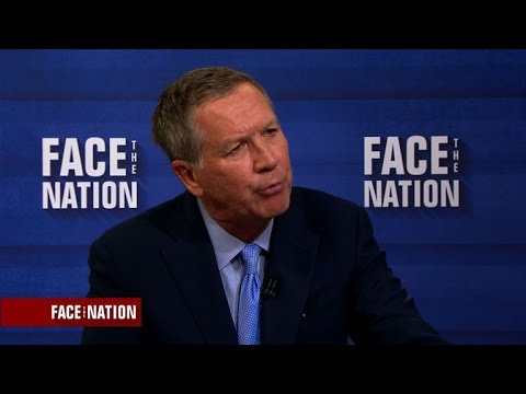 "John Kasich: ""Political parties are on their way out"""