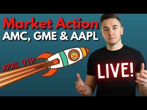 🔴[LIVE] Stock Market Action & Predictions: AMC, GameStop, Apple, Tesla & More