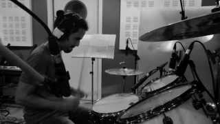 JENNY IN CAGE - DRUMS RECORDING SESSION