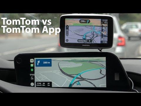 TomTom GO Mobile App Vs. TomTom Go Premium Vergleich / Test [4K] - Autophorie