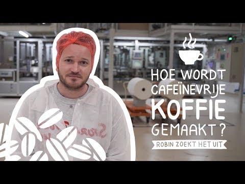 Decafé gemaakt van bonen mét cafeïne? | Robin Zoekt Het Uit #37