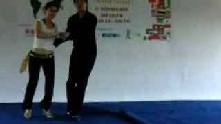 Salsa Dance Performance in Penang USM