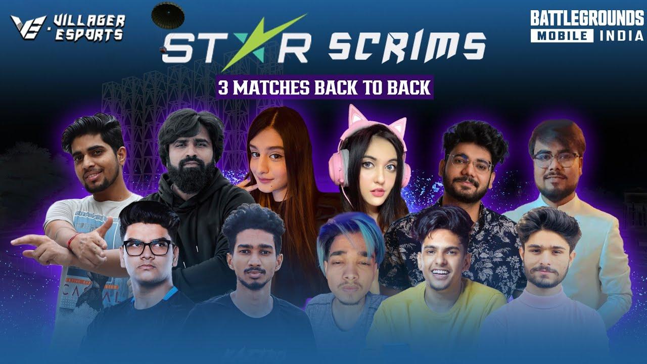 Villager Esports BGMI STAR SCRIMS ~ DAY 17