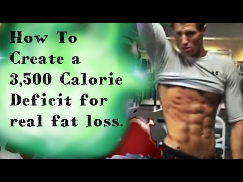 How To Create a 3,500 Calorie Deficit in ONE DAY