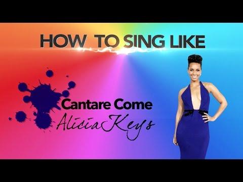 Come Cantare come Alicia Keys - How to Sing like Alicia Keys