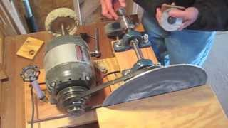 Benchmark Sanding Machine,  New Invention - Patent Pending