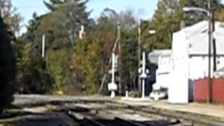 MBTA Commuter Rail Train Arriving At Concord