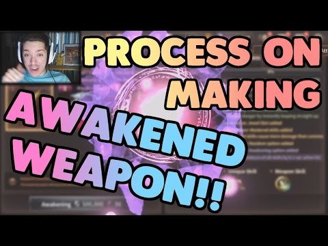 Process of Making my Awakened Weapon Guide! | HIT Heroes of Incredible Tales
