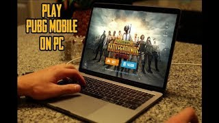 كيفية لعب لعبة ببج pubg mobile على pc الكمبيوتر بتحكم سهل حصريا