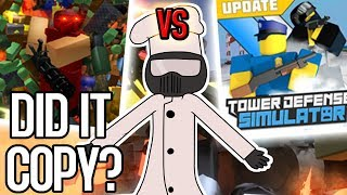 Tower Defense Simulator vs Tower Battles | ROBLOX