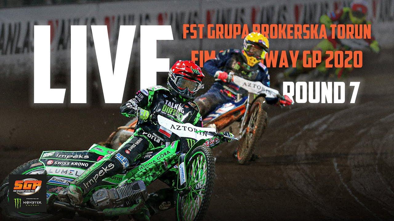 🔴  LIVE FST GRUPA BROKERSKA TORUN FIM Speedway GP 2020 | Poland | Round 7