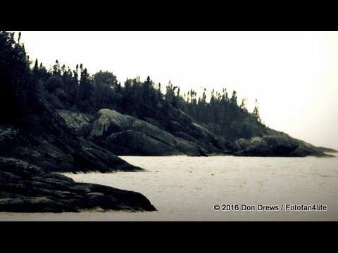 Lake Superior Heron Bay Shore, Marathon Canada