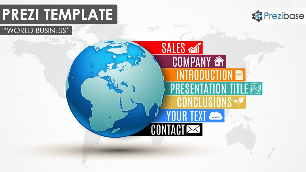 World business prezi template youtube world business prezi template cheaphphosting Images