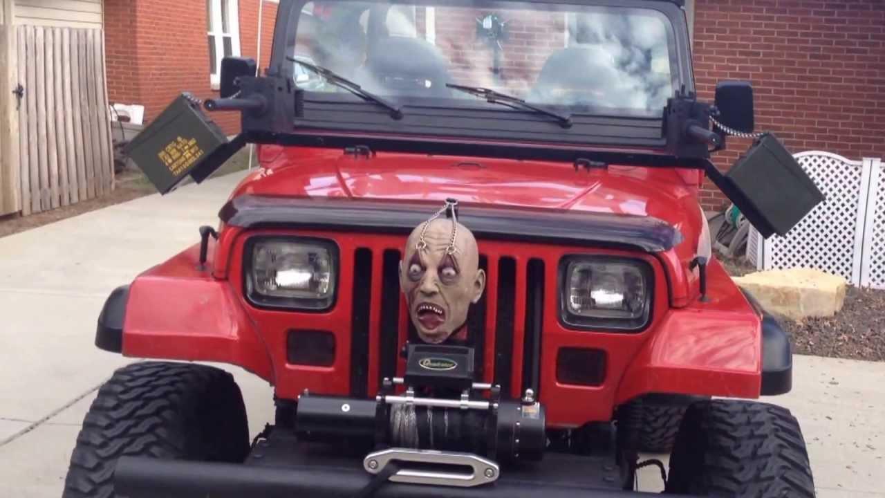 Zombie Hunter Jeep - YouTube