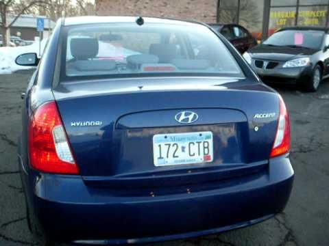 Nice 2009 Hyundai Accent GLS, 4 Door, Auto, Air, LOADED, 27,000 Miles!!!