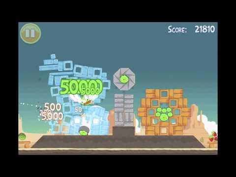 Angry Birds: Secret Super Bowl, Golden Egg Walkthrough