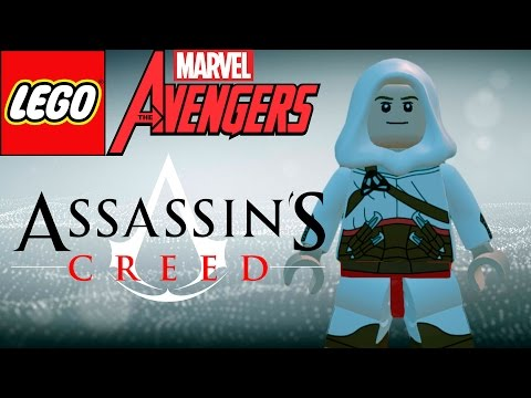 LEGO Marvel Avengers (Vingadores) Assassins Creed Altair (MOD)