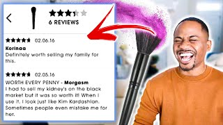 TOP 40 FUNNIEST MAKEUP REVIEWS ON THE INTERNET | Alonzo Lerone