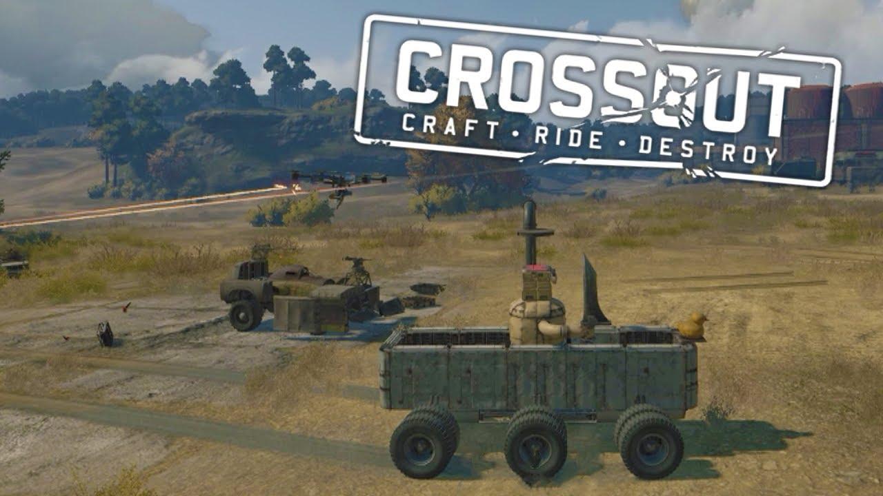 Best Crossout Builds | Crazy Bathtub Battle Vehicle, Star Wars ATST, U0026 More!