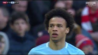 Leroy Sane vs Arsenal 25-02-2018 Home