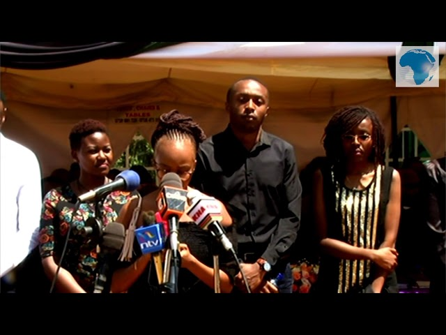 Emotional friends pay last respect to Ivy Wangechi during send off