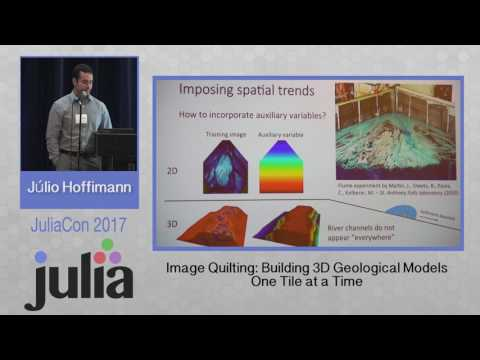 JuliaCon 2017 | Image Quilting | Julio Hoffimann