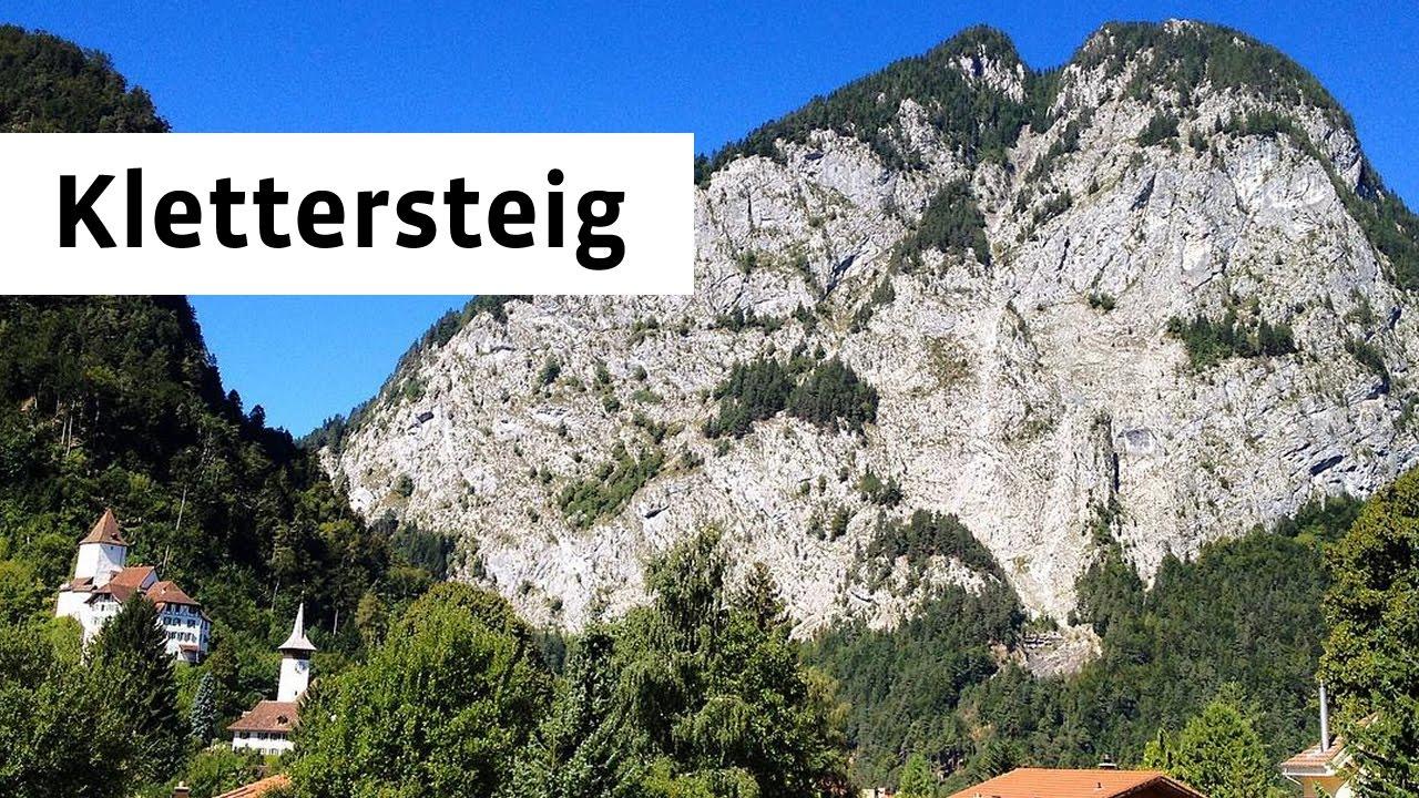 Klettersteig Wimmis : Klettersteig simmenfluh sunnighorn m youtube