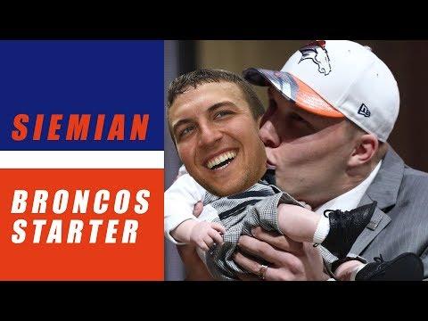 Trevor Siemian Named Starting QB for Broncos