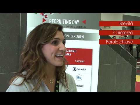 Interviste alle aziende: consigli per presentare il CV - Recruiting Day 2018