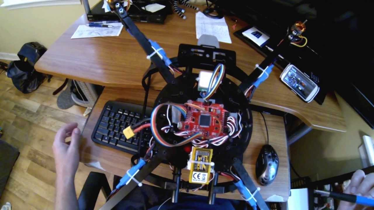 Multiwii Pro 2 Wiring Diagram Libraries Quadcopter 328p How To Wire Fc For And Spektrum Youtubehow