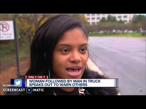 WARNING! Attempted Abduction! White Truck Stalks Woman Southfield Michigan! It Continues!