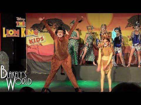 The Lion King Kids | With Blakely Bjerken As Pumbaa
