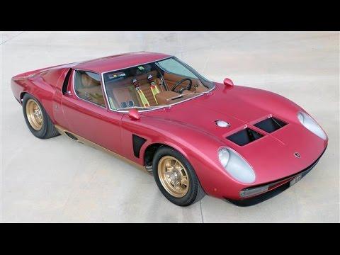 1971 Lamborghini Miura Svj Jota Youtube