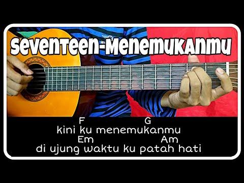 Chord gitar (SEVENTEEN-MENEMUKANMU) petikan