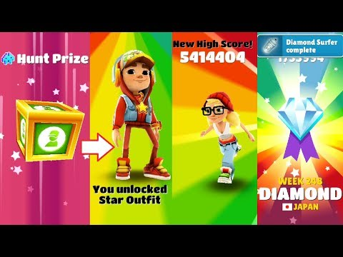 SUBWAY SURFERS : After weekly hunt gameplay of my next video!