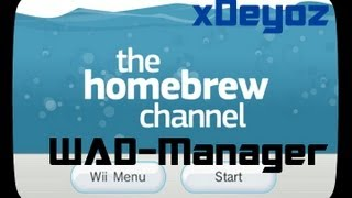 Repeat youtube video How to do WAD Manger - Tutorial [Deutsch]