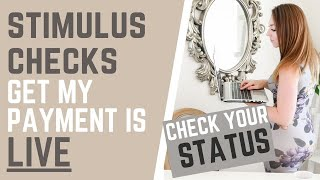 How to check the status for your $600 stimulus and second direct payment on irs get my portal which is now live.check here: ...