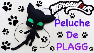 MIRACULOUS LADYBUG PLAGG PLUSH | PELUCHE DE PLAGG | CAT NOIR | COMO HACER  | DIY - YuureYCrafts