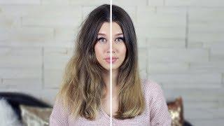 видео Как выпрямить волосы феном?