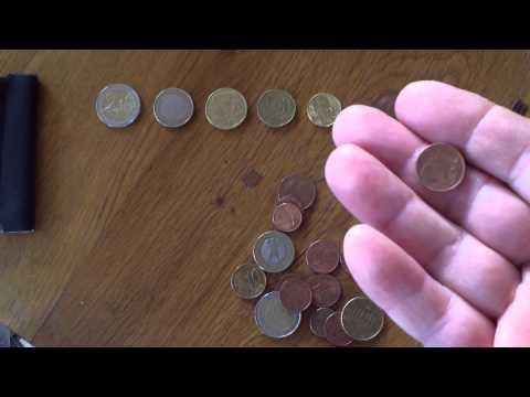 Euro money explained : part 1 -- Coins aka ,, munten ''.