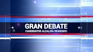 Gran Debate - candidatos a alcaldía de Rionegro