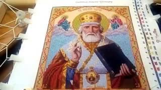 "обзор на набор ""Святитель Николай Чудотворец"""