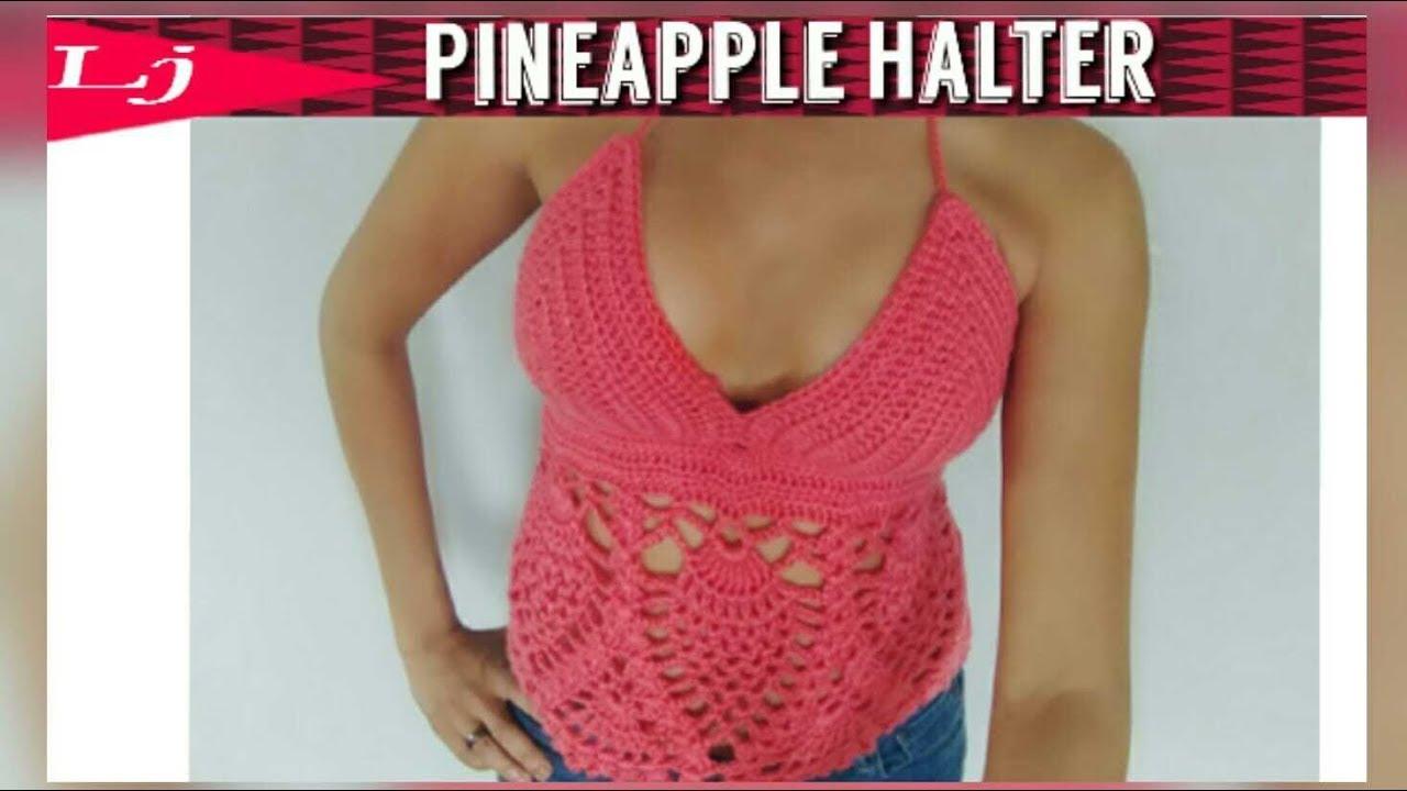 Crochet Pineapple Festival Top Youtube